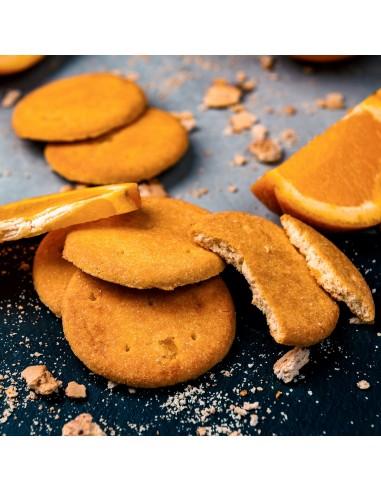 Biscuiti proteici portocale