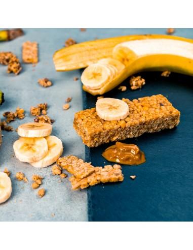 Baton hiperproteic banane